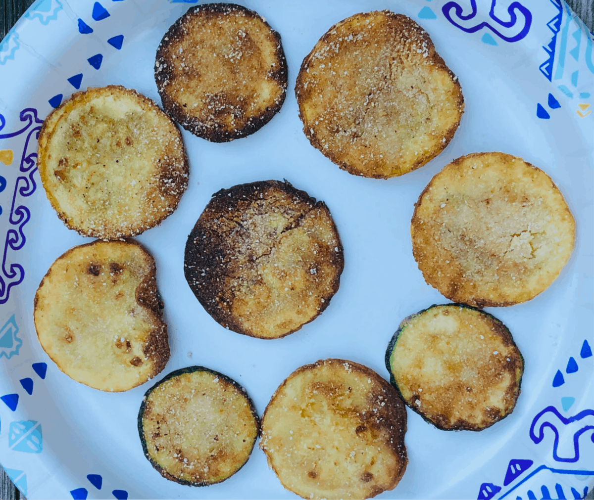 perfectly fried squash