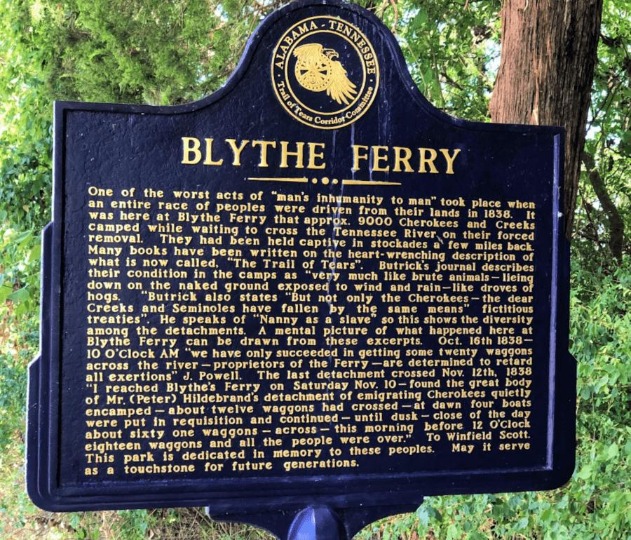 Blythe Ferry Meigs County