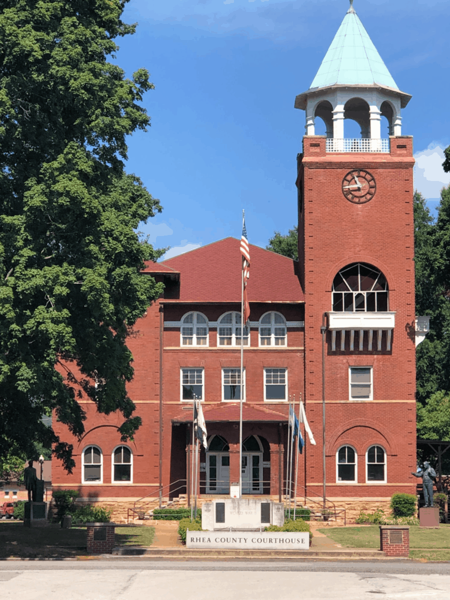 Rhea County Courthouse Dayton, Tennessee