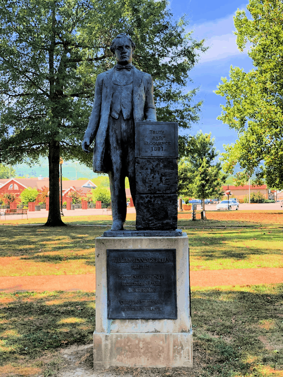 William Jennings Bryan Dayton Tennessee