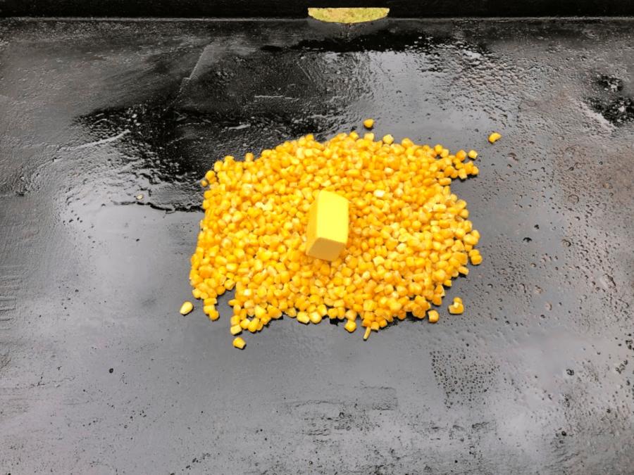 Street corn on the blackstone