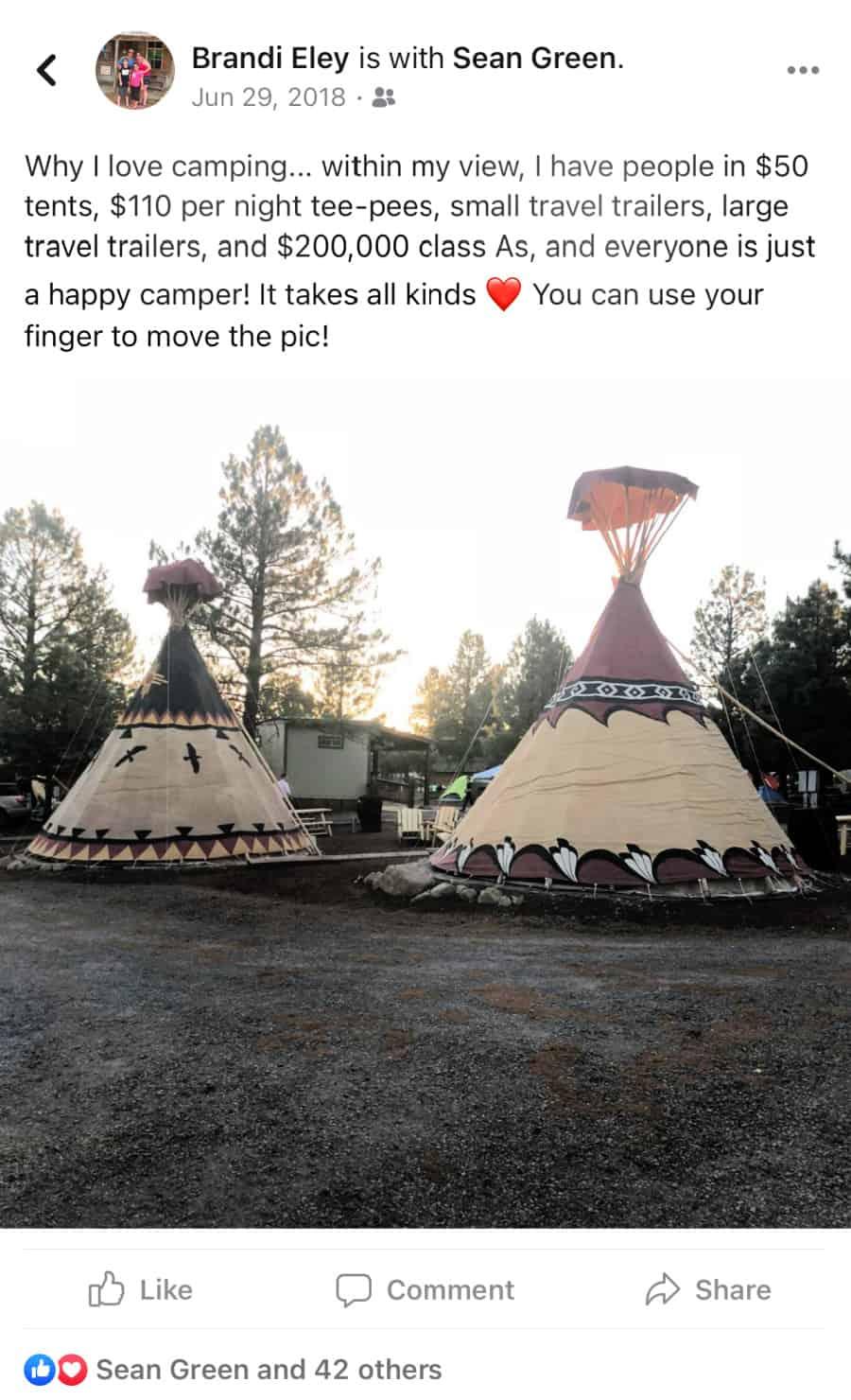 Campground Williams, Arizona