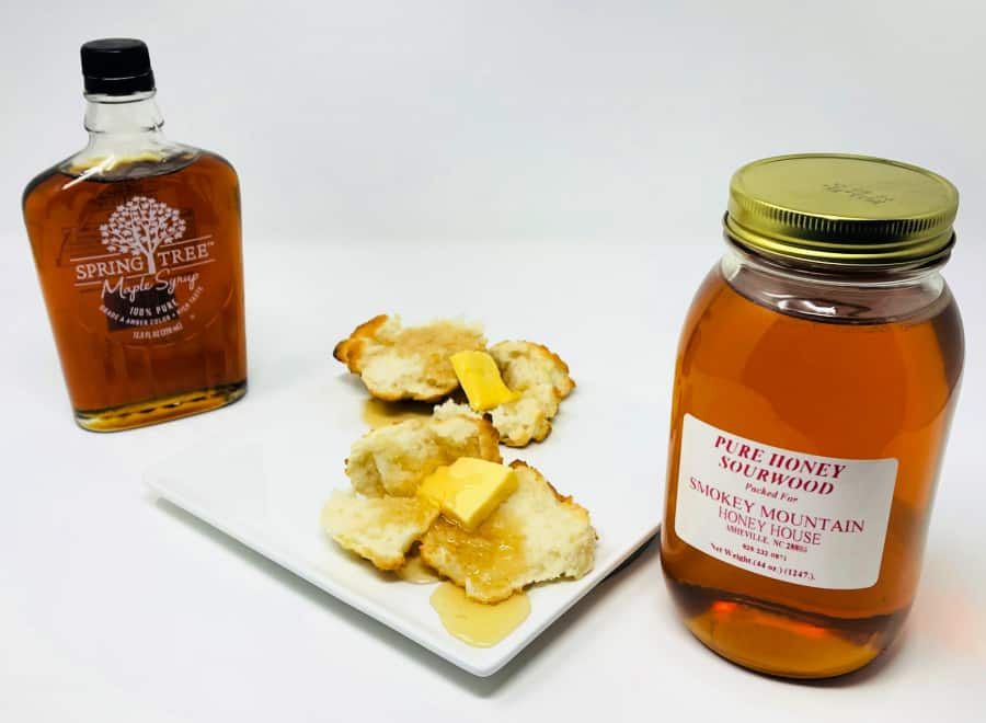 biscuits and syrup- foods of our grandparents